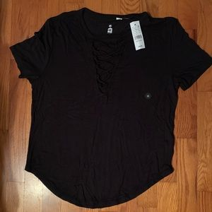 NWT - Me to We black shirt from Pacsun